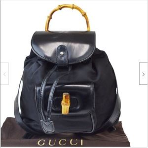 Vintage Gucci mini backpack